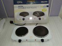 Tropan FEO956 Double Electric Hotplate Hob - Table / Counter Top