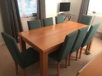 NEXT Dining Room Table & 8 Chairs