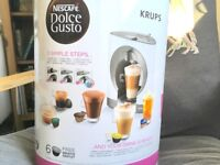 Krups Oblo Dolce Gusto coffee machine (white) - new, unused