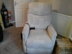 Rise and recline chair, its only been used twice
