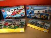 LEGO CITY 8 SETS ALL EXCELLENT CONDITION AND BOXED £195