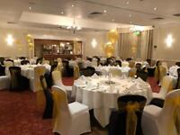 Chair covers and Sashes to hire
