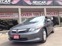 2012 Honda Civic LX AUT0 A/C CRUISE ONLY 112K