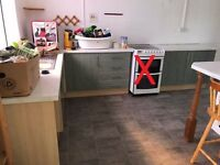 Kitchen (only counters and cabinets with sink & worktop)