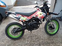 2014 125cc Road Legal Bike, Full years Mot from today (wed)