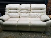sofa white leather