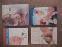 4 books about babies, extremely good condition