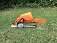 Stihl MS 260c chainsaw used with stihl carry case