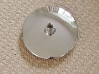 Triton Capella / Alice Fixed Overhead Shower Head / Showerhead Chrome Bathroom Fixtures