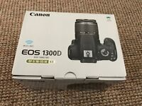 Black Canon EOS 1300 Digital SLR Camera