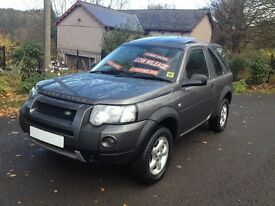 2006 56 REG FREELANDER Td4 /LOW MILES/HI SPEC + HILL DESCENT/OWNED BY SAME FAMILY SINCE 2006/X TAIL