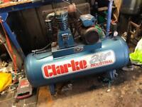 Clarke 150l compressor