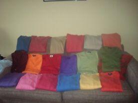 Various designer men's sweaters, size large, hardly worn