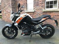 KTM 125cc Duke