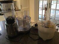 Kenwood food processor in good condition and working order with all attachments. Hardly used.