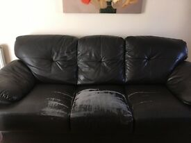 Sofa and two seater