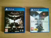 Batman: Arkham Knight & Killzone: Shadow Fall for PS4