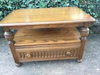 Ercol 'Mural' TV cabinet / side table / hall stand / coffee table