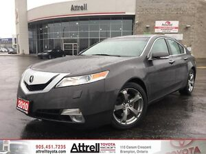 2010 Acura TL Technology Package. Smart Key, Memory Driver Seat,