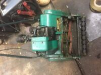 Qualcast Suffolk punch mower