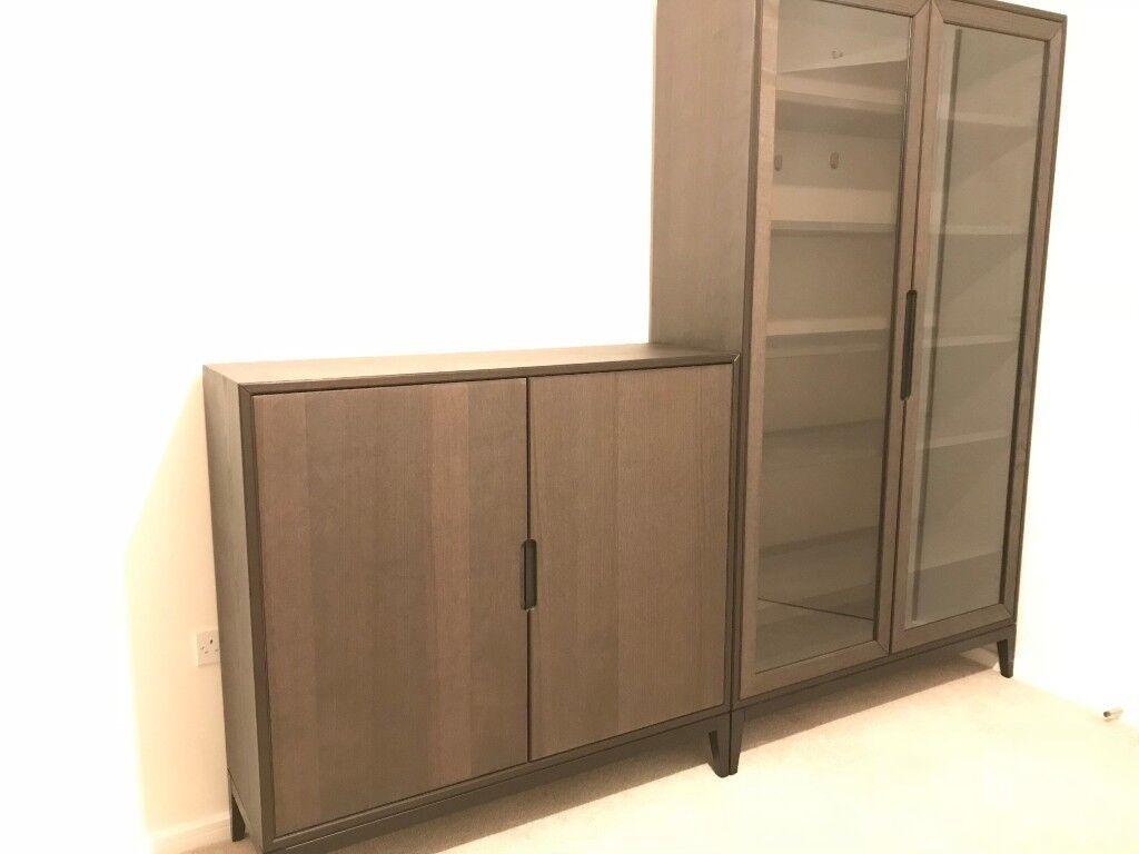 Ikea Regissr Glass Door Cabinet Great Condition In Mile End