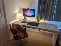 Movian White Desk - Epic Double Desk