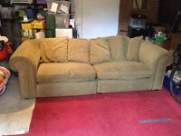Large settee sofa for sale
