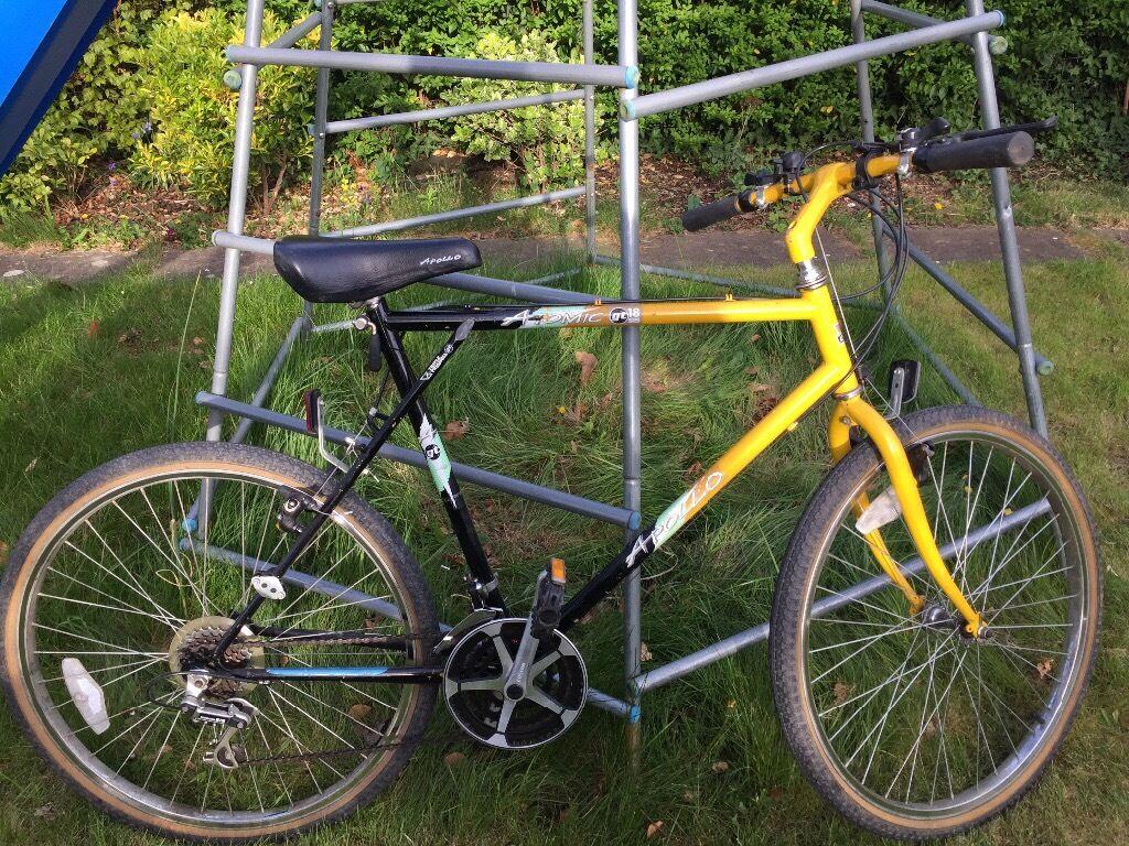 Apollo Atomic Gt18 Mountain Bike Vintage In Maidenhead