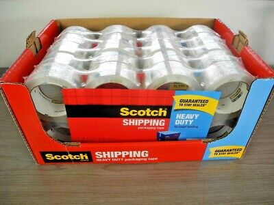 3m Scotch 40 Packs Packing Tape Heavy Duty 1.88 X 54.6 Yards