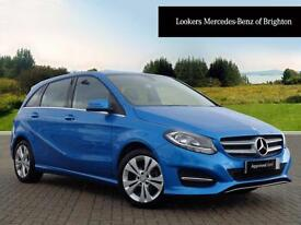Mercedes-Benz B Class B 180 D SPORT EXECUTIVE (blue) 2016-04-22
