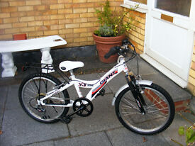"""GIANT 20"""" WHEEL FRONT SUSPENSION BIKE IN GREAT WORKING ORDER AGE 7+"""