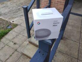 Google Mini 1st Generation Chalk, Brand New still sealed