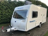 Bailey Ranger Series 5 460/2 2007 2 Berth Caravan with End Washroom