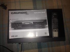 Grundig Minidisc recorder/player MD60