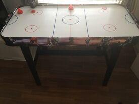 *** air hockey table like new***