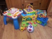 Various toddler toys as a bulk buy. All in good, clean condition and full working order.