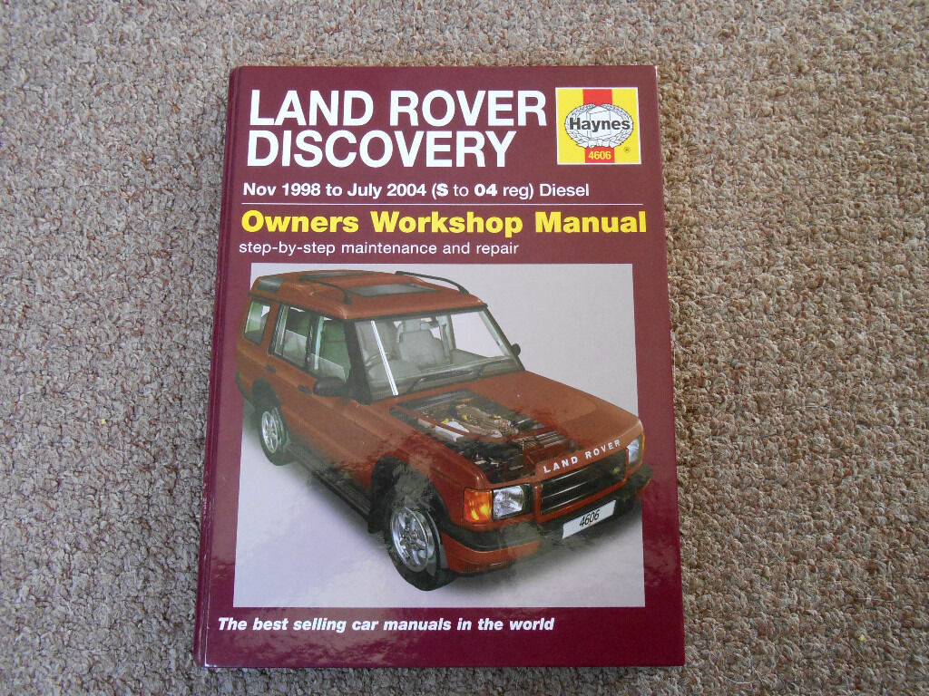 HAYNES LAND ROVER DISCOVERY TD5 MANUAL