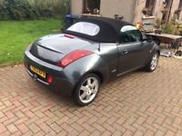 53 Ford KA convertible - leather interior
