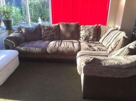Really comfy corner sofa