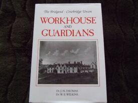 Local history book 'Bridgend-Cowbridge Union – Workhouse & Guardians'