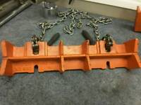 Pipe chain clamp
