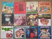 Vinyl Records Job Lot Various, Musicals etc, Original
