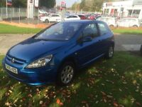 2005 peugeot 307 on good condition