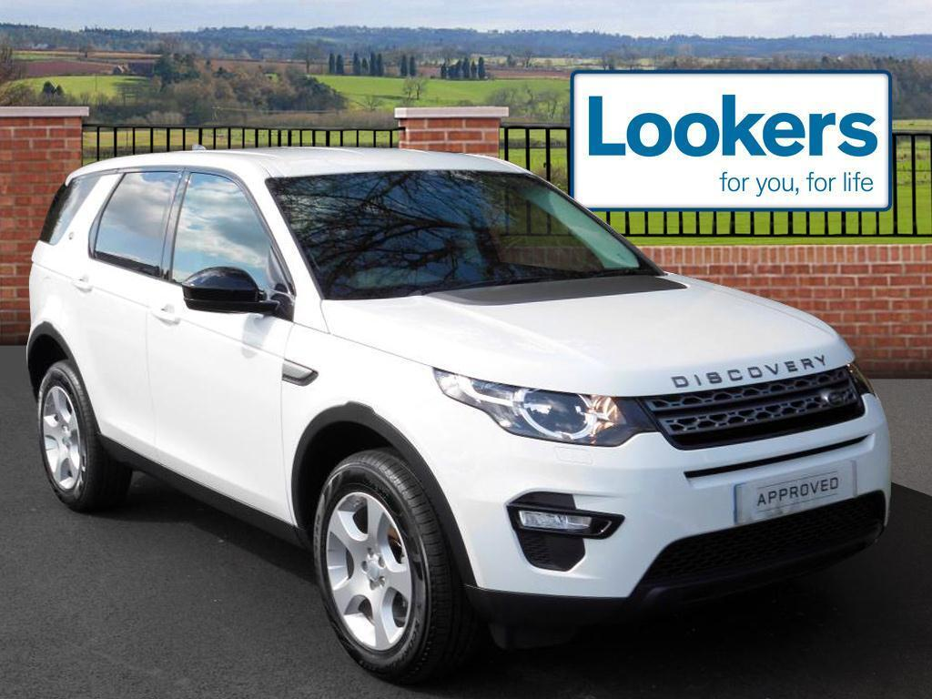 land rover discovery sport td4 pure special edition white. Black Bedroom Furniture Sets. Home Design Ideas