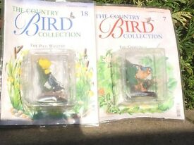 Country bird collection. Rare, scarce collectable!