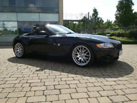2004 BMW Z4 3.0I SE BLACK, low mileage and lots of extras!