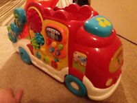 vtech car transporter toot toot STILL AVAILABLE 19/02