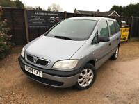 Vauxhall Zafira, 7 seater, diesel, FSH + new MOT