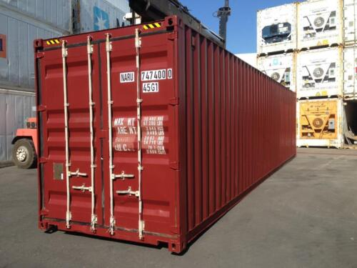 40 Fuss Container Transportcontainer Lagercontainer In Mitte