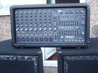 Peavey 600 watt mixer / amp